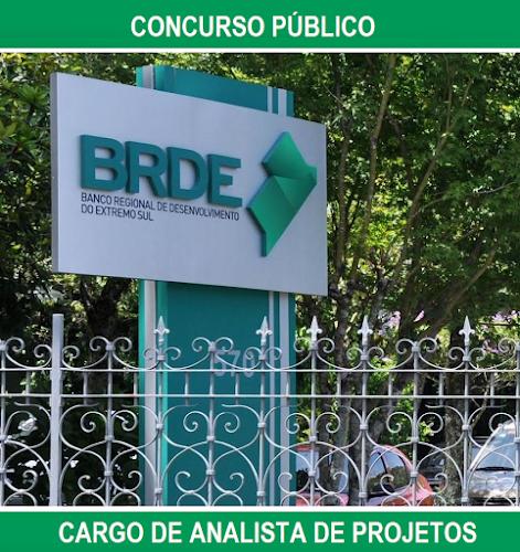 Apostila Banco BRDE do Extremo Sul - cargo ANALISTA DE PROJETOS