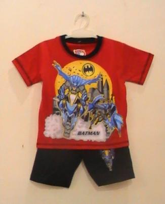 baju kartun anak batman