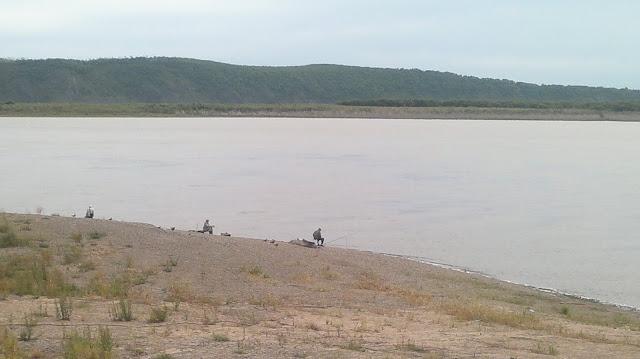 Рыбаки на Амуре