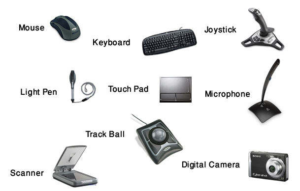 20 examples of output devices and their functions A pointing device is a hardware device that makes it possible for the user to install constant and multi-dimensional information in the system the three main functions of the pointing devices are - to point somewhere on the monitor, click and drag.