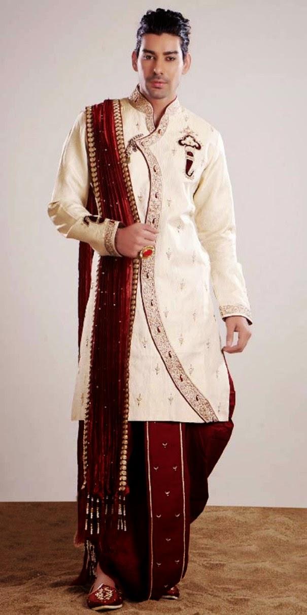 Men Groom Dresses 2014 and Men Sherwani Designs 2014 - Yoga Jasmine ...