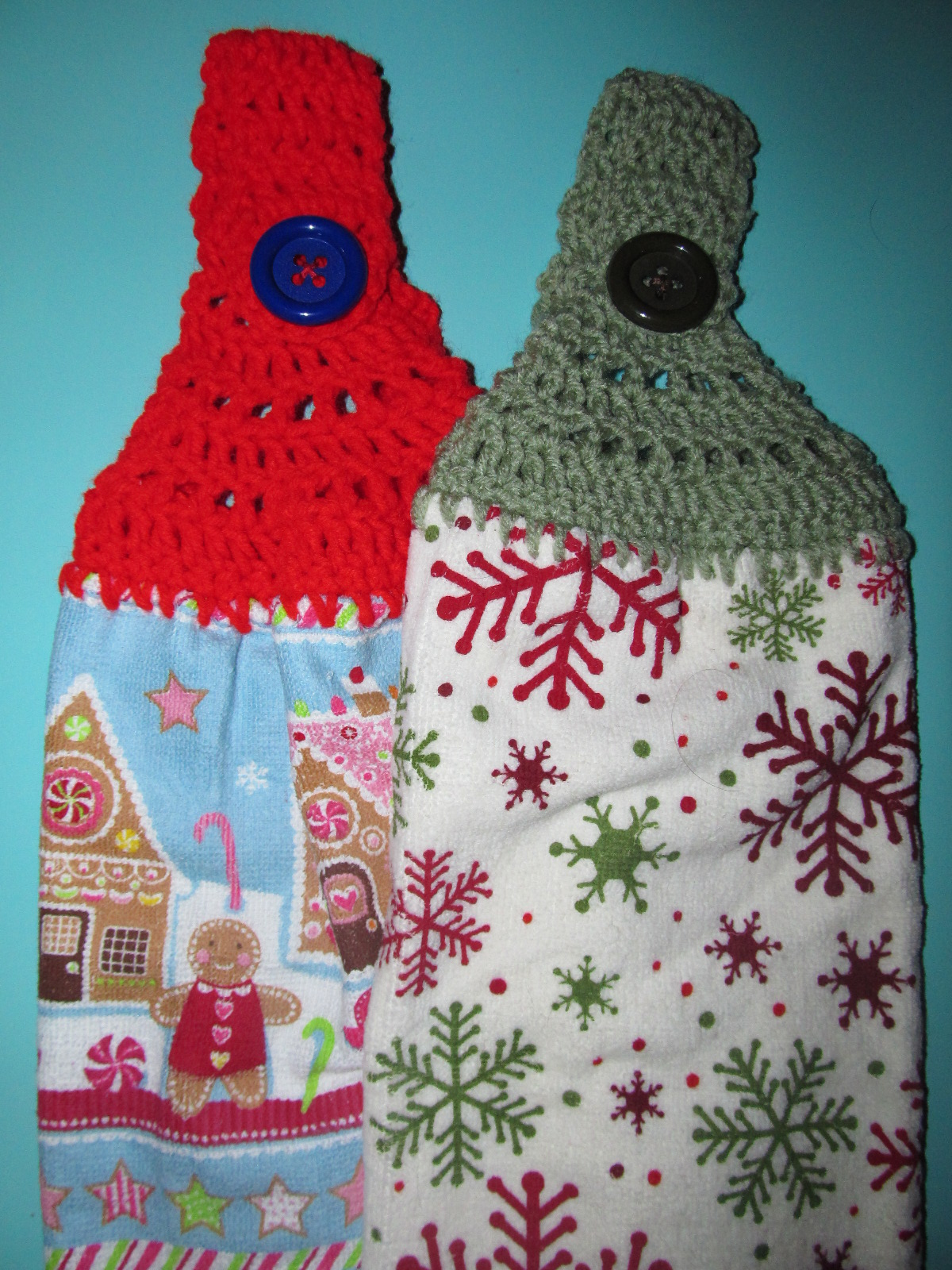 Crochet Patterns Kitchen Towels : simply crochet and other crafts towel toppers click for details towel ...