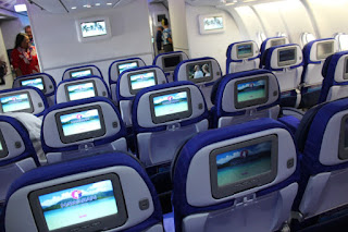 Hawaiian Airlines Economy Class Cabin is rated as one of the world's best
