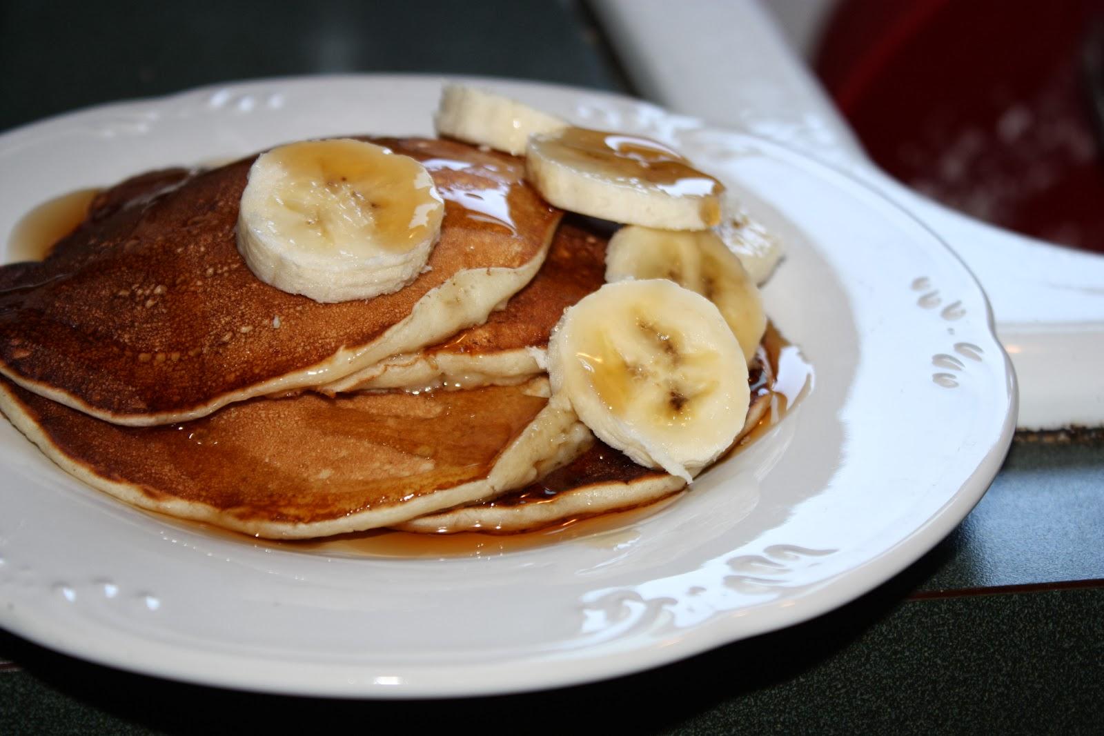 Banana Pancakes | Mostly Homemade Mom