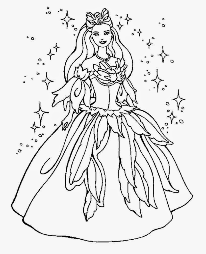 Fancy Nancy Party Coloring Page