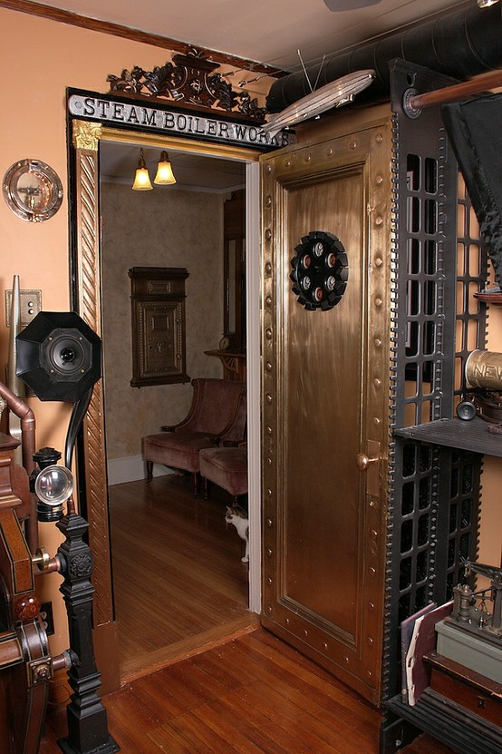 12 Crazy Steampunk Home Office Designs ~ Home Interior Project