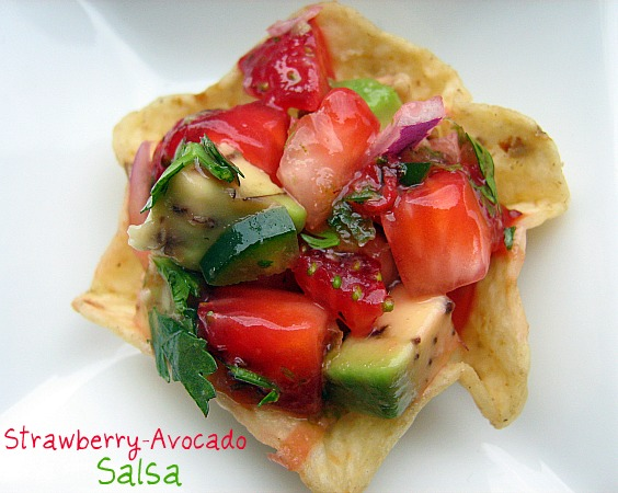 ... Kitchen: Cooking Ligh Virtual Supper Club- Strawberry-Avocado Salsa