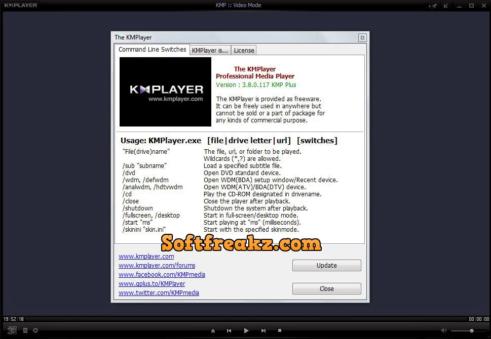 KM Player 3.8.0.117 Screen 3