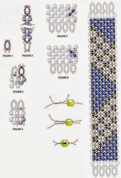 Sara Craftroom79 Bracciale Con Perline Schema