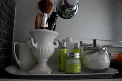 Face cream - Face care products - Loccitane - BIO - Bathroom shelf