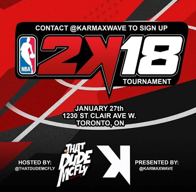 KarmaXwave Annual 2K18 Charity Tournament hosted by ThatDudeMcFly