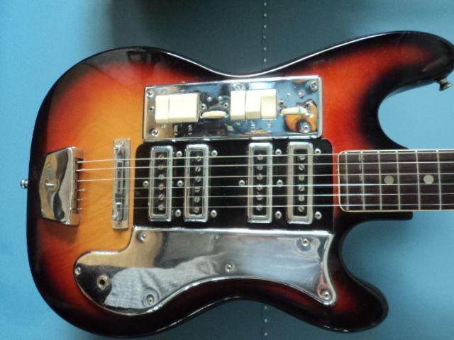Guitar Blog No Name Baritone Electric Guitar With 4 Pickups What