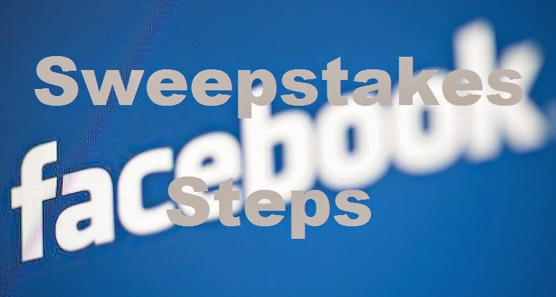 Steps To Launching A More Effective Facebook Sweepstakes image photo
