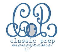 Sassy Sponsor: Classic Prep Monograms