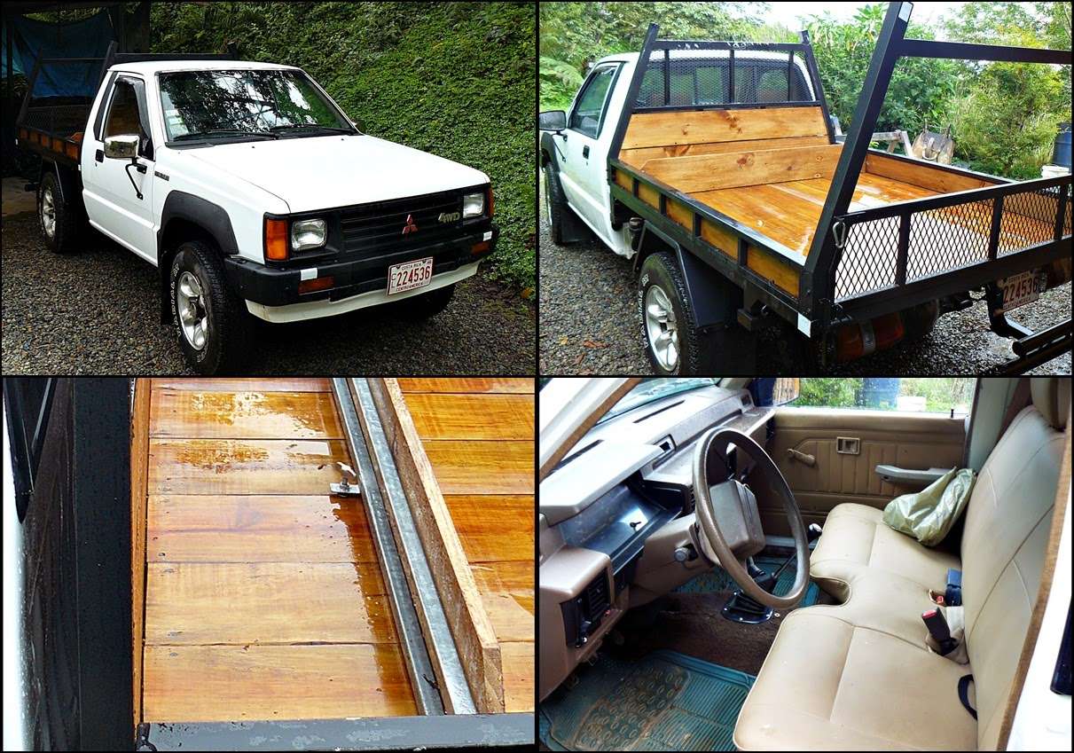 Restored '88 Mitsubishi pickup