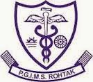 PGIMS Rohtak Technician and Care Taker Jobs Notice 2015
