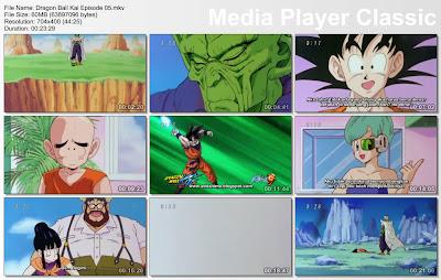 """Download Film / Anime Dragon Ball Kai Episode 05 """"Bertahan Hidup di Alam Bebas! Bulan Purnama yang Membangunkan Gohan"""" Bahasa Indonesia"""