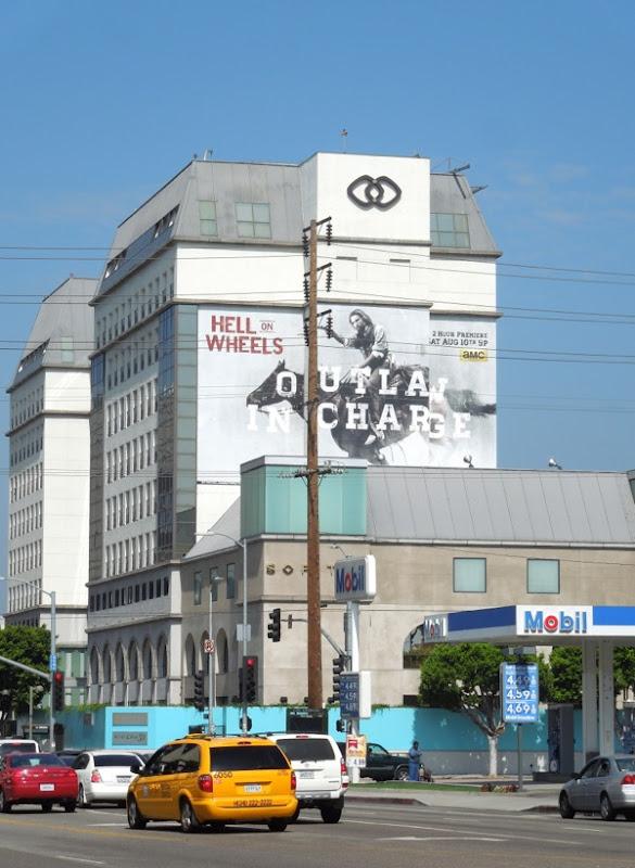 Hell on Wheels season 3 billboard