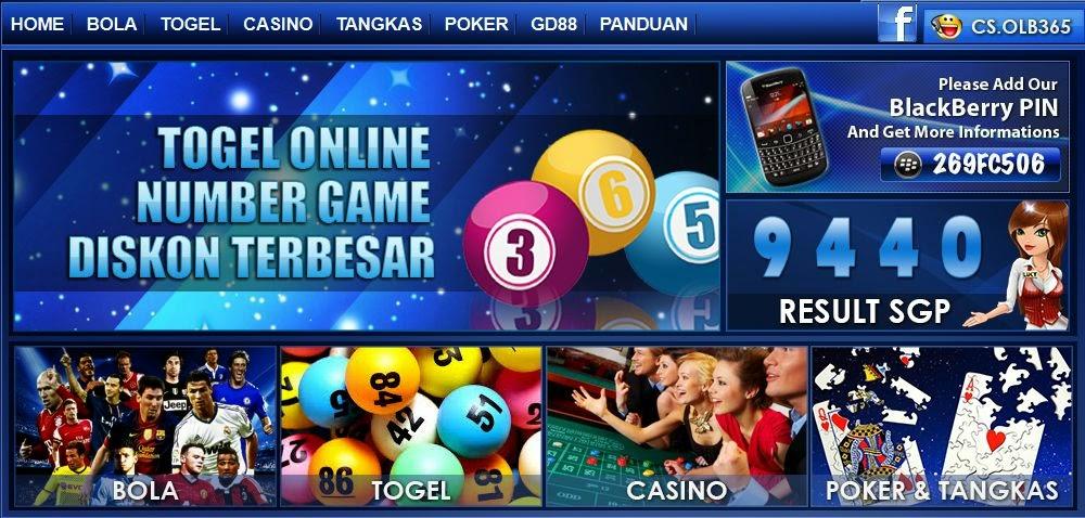 OLB365.com Agen Judi Bola Online, Agen Judi Casino Online Indonesia Tepercaya
