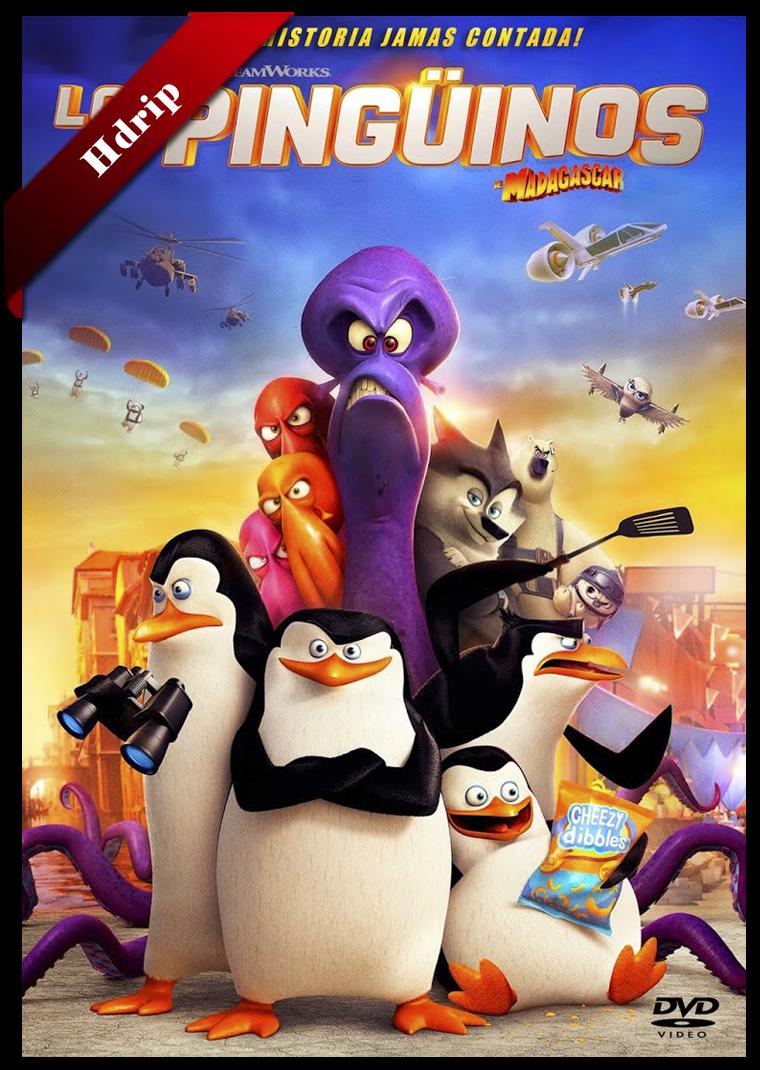 Los Pinguinos De Madagascar La Pelicula