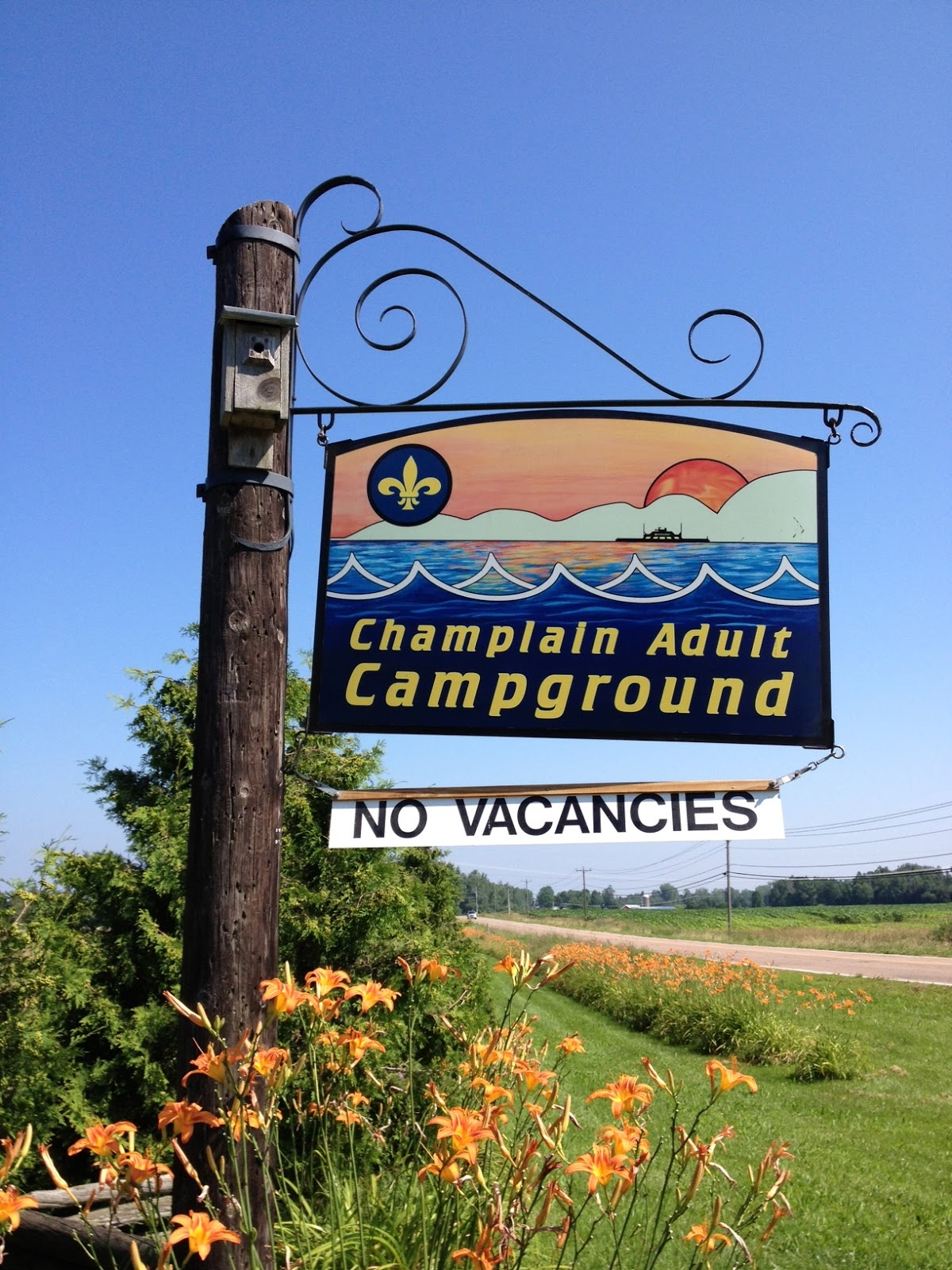 regions vermont grand isle champlain adult campground
