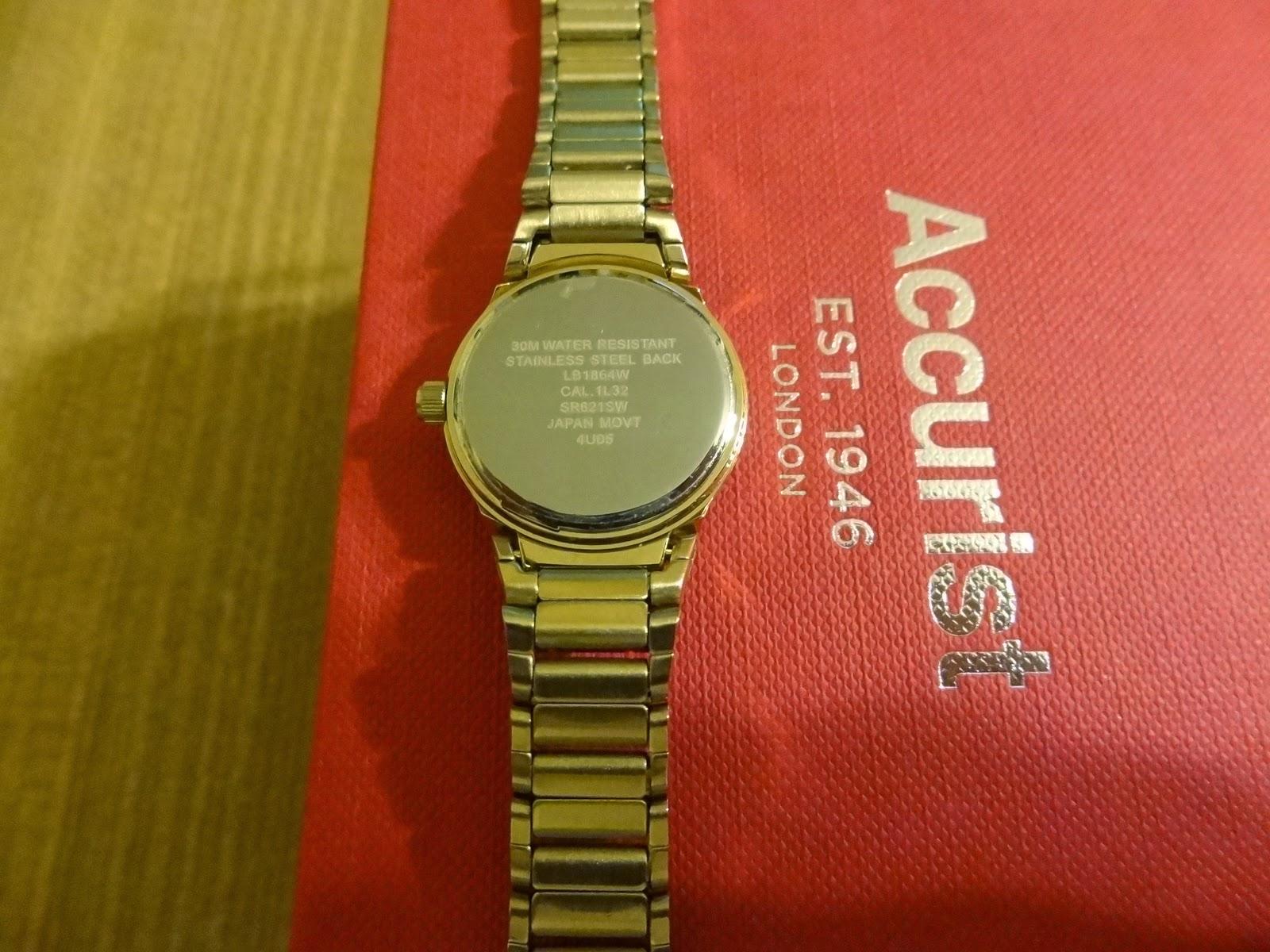 Accurist LB1864W watch