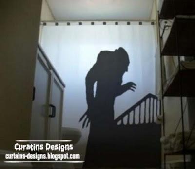 Horror and suspense curtain unique shower curtains 30 Creative shower curtains unique designs, styles, photos 2