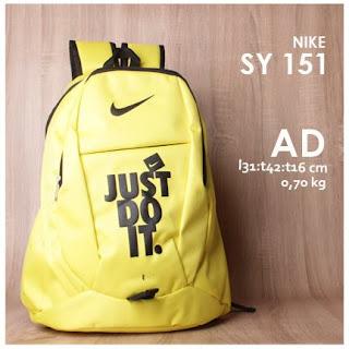 Jual Online Tas Ransel Sporty Branded Keren Harga Murah - Nike SY 151