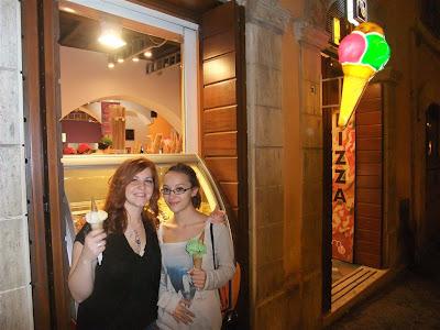 gelato, rome italy