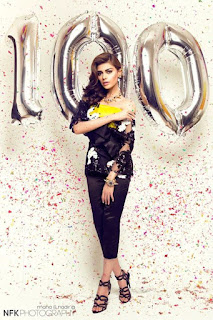 Sadaf Kanwal Photoshoot for Paperazzi 100 Issue