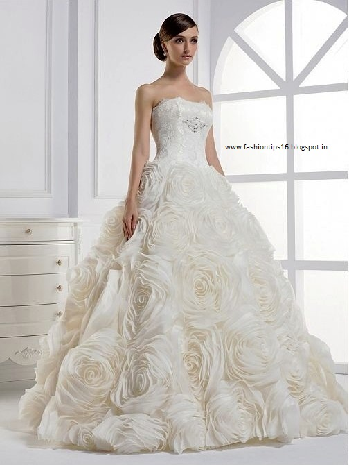 Fashion tips western bridal wear for Best wedding dress for big hips