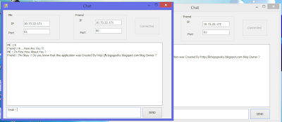 C# Chat Application
