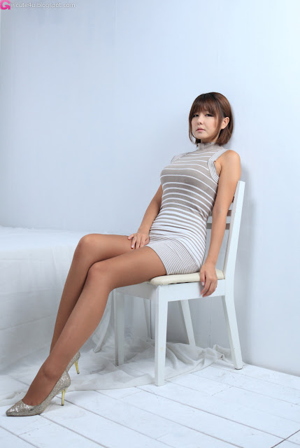 4 Ryu Ji Hye in Mini Dress-very cute asian girl-girlcute4u.blogspot.com