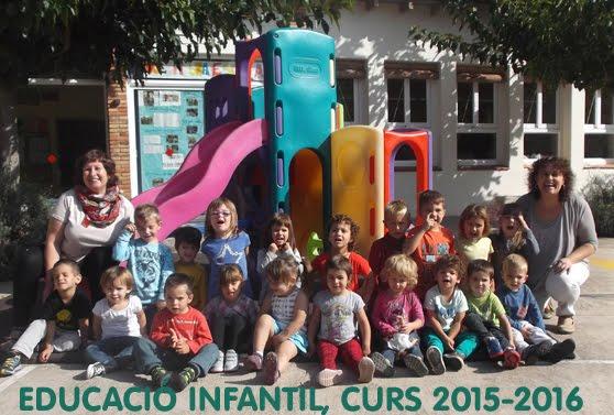 EDUCACIÓ INFANTIL, ESCOLA D'OLVAN. CURS 2015-2016