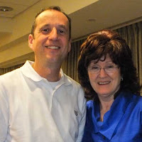 Picture of David Goldstrom and Sue Johnson at EFT Externship 2012