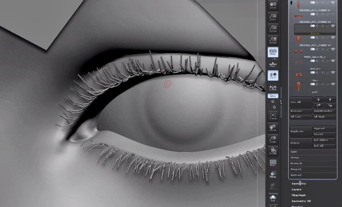 Modeling Eyelashes In Autodesk Maya Cg Tutorial