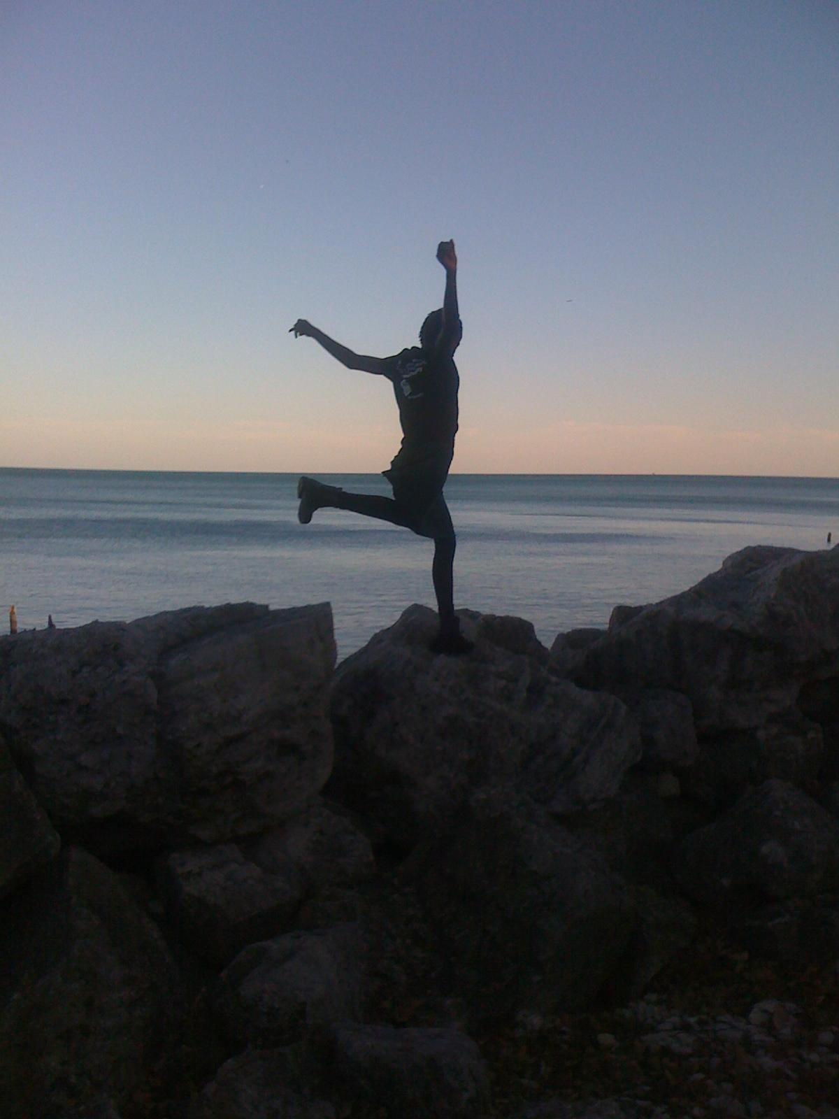 Fall Beach