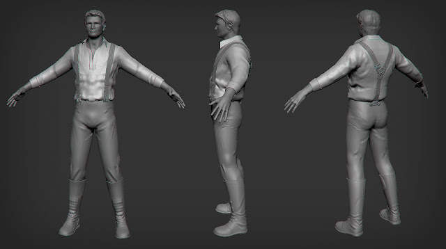 captain mal reynolds zbrush