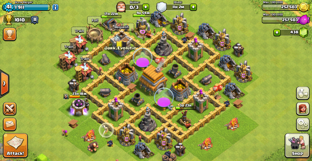 Coc th6 base defense search results web design