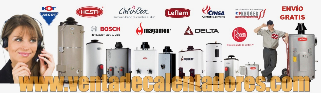 Venta de Calentadores de Agua - Boilers para uso Residencial e Industrial