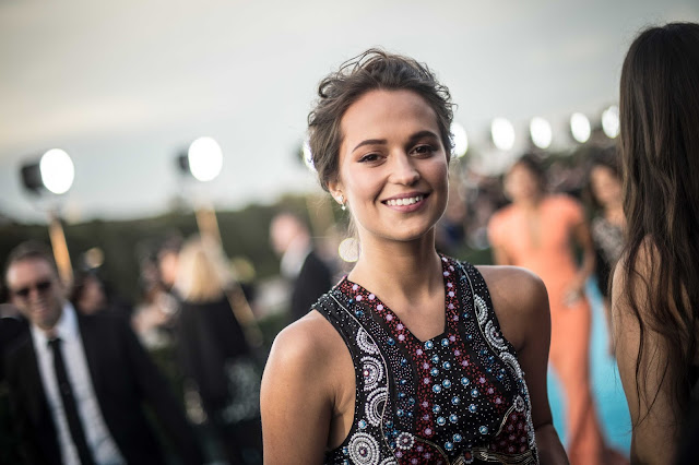 """The Danish Girl"" actress Alicia Vikander at 21st Annual Critics Choice Awards 2016 - HD Photos"