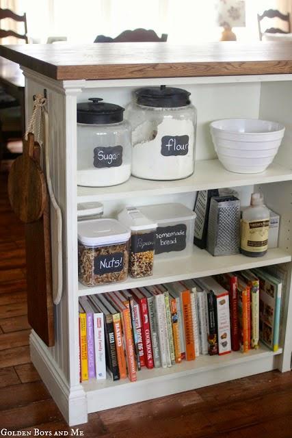 billy bookshelves kitchen island - ikea hackers - ikea hackers