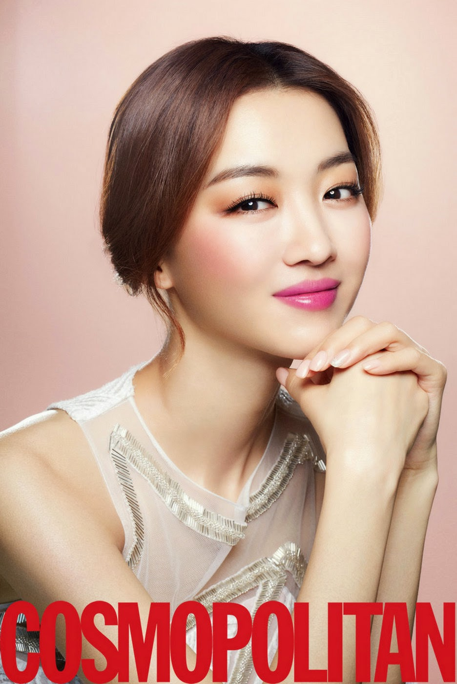 Jang Hee Jin - Cosmopolitan Magazine February Issue 2014