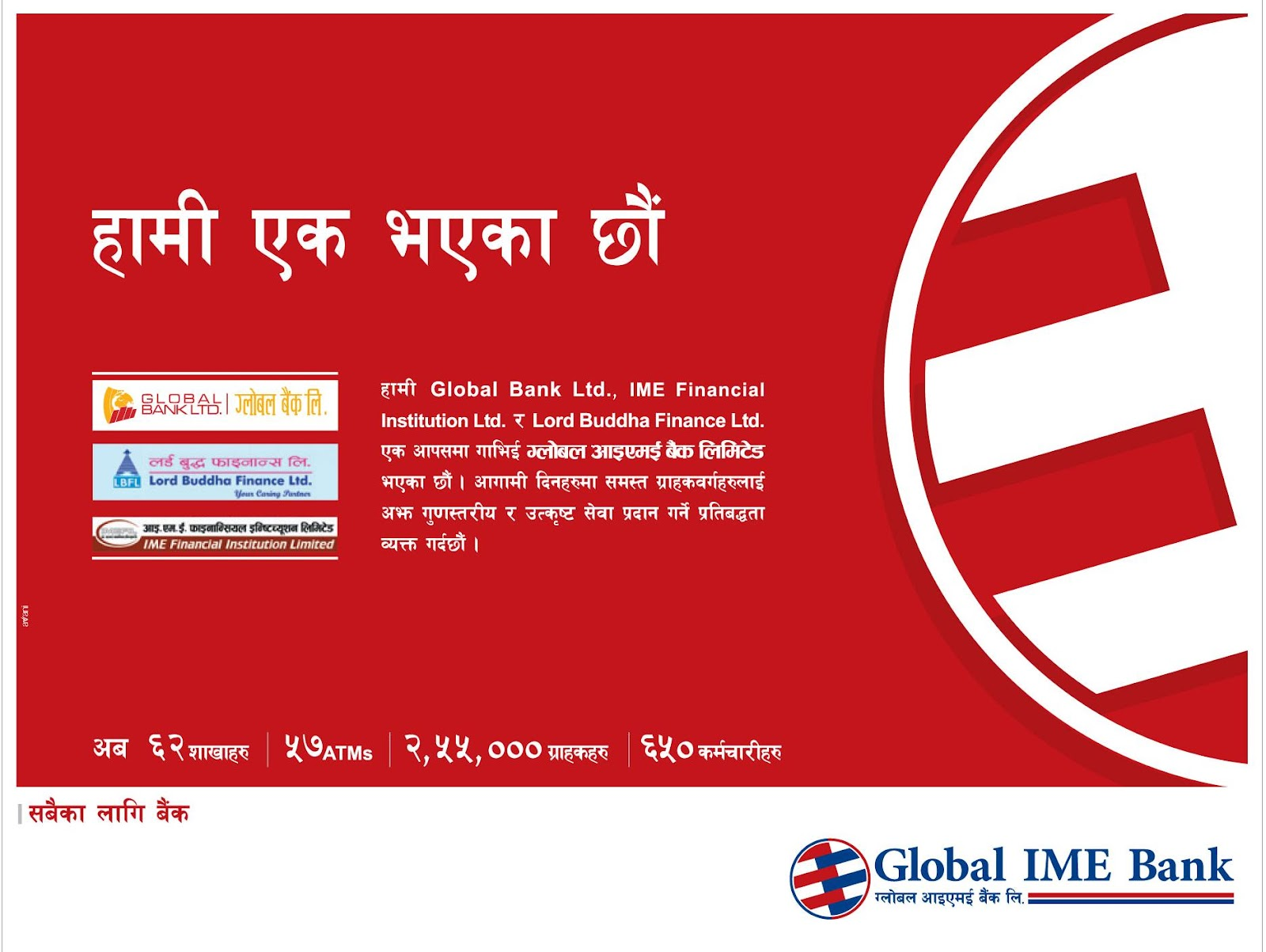 global ime bank nepal