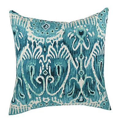 "Newport ""Sarabi"" Teal Decorative Pillow 