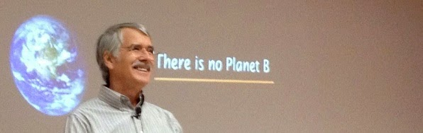 Kevin Trenberth: There is no planet B.