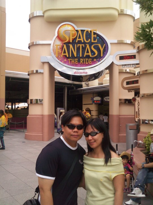 Osaka Universal Studios Japan Space Fantasy The Ride