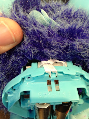 inside furby: removing the fur
