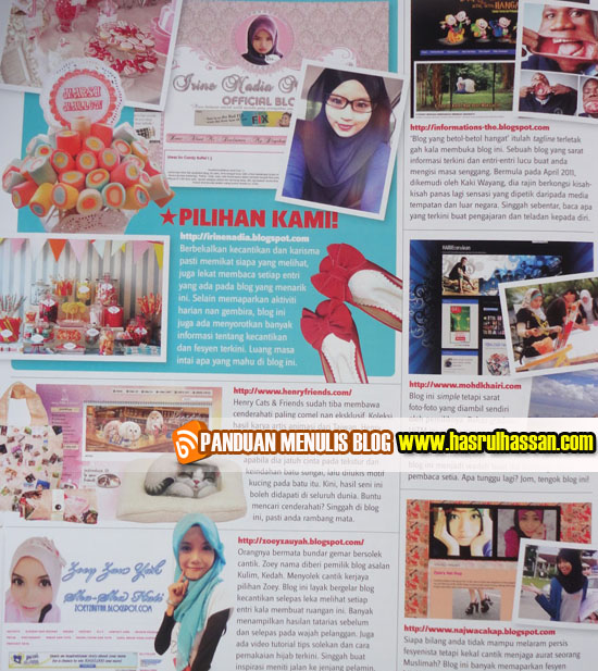 6 Blog Pilihan Intrend Mei 2012