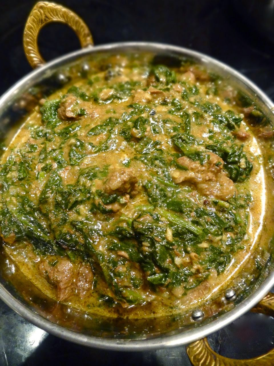 gosht lamb and spinach lamb spinach curry lamb spinach curry lamb saag ...